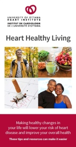 Heart Healthy Living Bookmark Cover