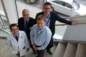 Lung cancer doctors at the The Ottawa Hospital