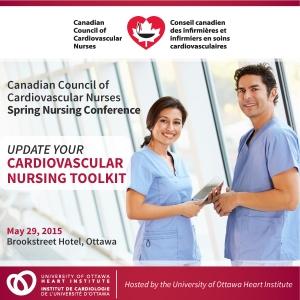 Poster for CCCN Spring Nursing Conference 2015