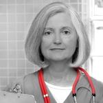 senior female doctor in hospital